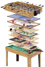 Miniature Wooden Foosball Table Game Best Man Cave Table Games 95