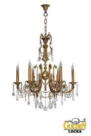 golden locks premium glass crystals luxury chandeliers antique spanish wall sconces classic chandelier fireplace candles lights vintage retro fancy shelves
