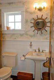 Powder Room Wallpaper Ralph Lauren Wallpapered Powder Room Great Nautical Wallpaper