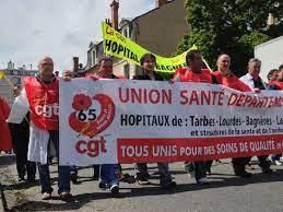 Mouvement de grêve départemental de plusieurs hôpitaux des Hautes-Pyrénées