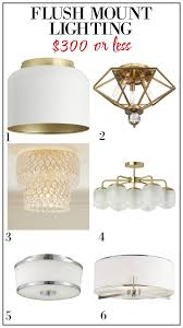 Inexpensive lighting fixtures Hallway Affordable Flush Mount Lights Affordable Semiflush Mount Lights Affordable Lighting Fixtures The Garage Journal Lighting For 300 Or Less
