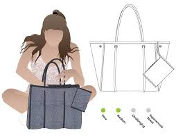 Tote Bag Sewing Pattern Best Barcelona Tote Bag And Purse Style Arc