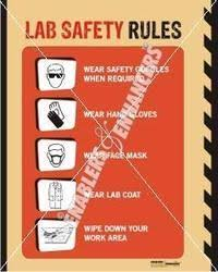 Chemistry Wall Charts Posters On Chemical And Lab Safety