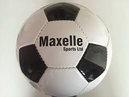 Traditional Size 5 Black And White <b>PU</b> Leather <b>Football</b>: Amazon.co ...