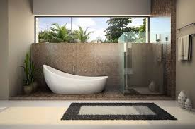 japanese bathroom design small space wastafel beside fence bowl