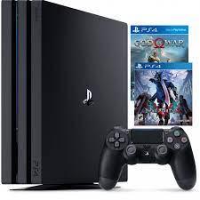 Bộ Máy Chơi Game Ps4 Pro 1tb Model 7106b Kèm Game Spiderman Và Devil May  Cry 5 - chính hãng - PlayStation Nhãn hiệu Sony