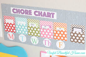 Interactive Chore Chart Do It Yourself Organized And Interactive Chore Chart