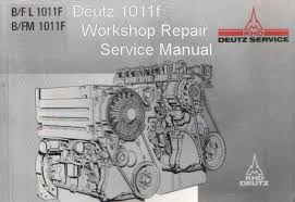details about deutz 1011f engine manual tractor truck shop repair deutz 1011f engine manual tractor truck shop repair service manual cd