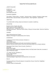 Text Resume Format Beauteous Plain Resume Kenicandlecomfortzone
