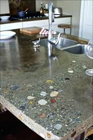 recycled glass countertops cost with countertop materials