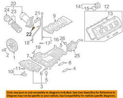 Details About Audi Oem 04 09 S4 Engine Oil Filter Housing Seal N90959701