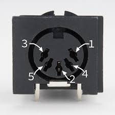 midi tutorial learn sparkfun com 5 pin din connector