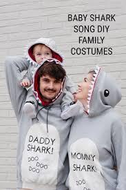 baby shark diy family costume ideas for the family