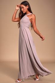 Romance Couture Size Chart Air Of Romance Taupe Maxi Dress