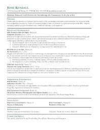 Elementary Education Resume | Nfcnbarroom.com