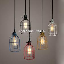 light fixtures for hallways warehouse metal cage pendant light retro industrial corridor hallway hanging fixtures
