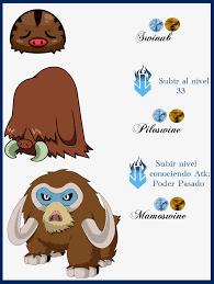 Pokemon Swinub Evolution Chart Swinub Evolve Related Keywords Suggestions Swinub Evolve