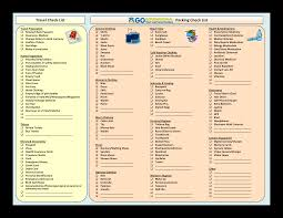 Vacation Packing Checklist Pdf Travel Packing Checklist Pdf Templates At