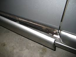 car door molding falling off reattach with 3m double sided tape 2001 pontiac grand