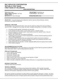 Bank Teller Job Resume40 Bank Teller Resume Example Sample Classy Resume For Bank Teller