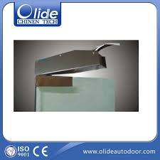 power concealed single swing door