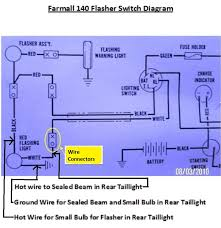 farmall diagrams farmall  farmall 140 6 volt positive ground wiring diagram