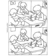 Leuk Voor Kids Wat Zijn De 8 Verschillen In De Schoolklas