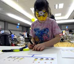 PHOTOS: Minion-themed Hanukkah party at JCC