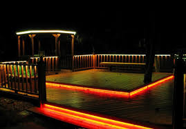 awesome lighting. Awesome Solar Deck Lighting Ideas D