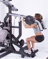 Body Solid Sbl460p4 Exercise Chart Body Solid Freeweight Leverage Gym