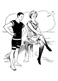 Kleurplaat Man En Vrouw Afb 30140 Images