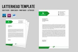 Company Letterhead Templates Delectable Corporate Business Letterhead Template Company Letterhead Etsy
