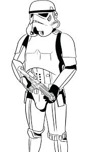 Storm Trooper Coloring Pages Star Wars Coloring Page Star Wars