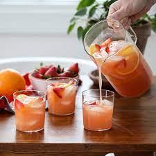 Serve vodka lemonade over ice with a lemon wedge and fresh mint for garnish. Best Pitcher Drink Recipes Popsugar Food