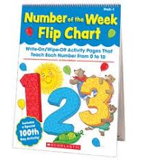 Number Of The Week Flip Chart Number Of The Week Flip Chart By Kama Einhorn