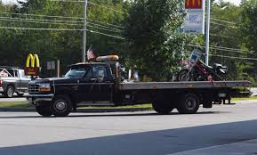 Motorcycle Strikes Camper on Route 1 in Wiscasset - The Lincoln ...