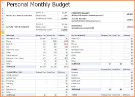 Monthly Expenses Spreadsheet Monthly Expenses Spreadsheet Aljerer Lotgd Com