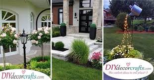 front yard landscaping ideas on a