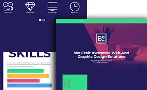 tamplate free html5 bootstrap creative agency website template for startup
