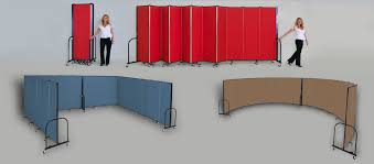 Portable Room Dividers | Folding Temporary Walls | Screenflex