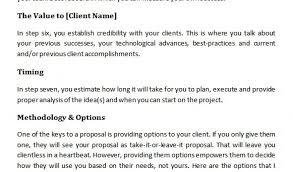Marketing Services Proposal Template 20 Sample Marketing Proposal