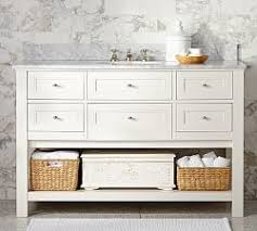 bathroom single sink vanities. classic single wide sink console - white bathroom vanities e