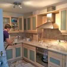 Repainting Oak Kitchen Cabinets Painting Oak Kitchen Cabinets Expressions Interiors