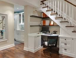stylish home office furniture. Stylish White Desk And Retro Wooden Chairs For Creative Ideas Home Office Furniture