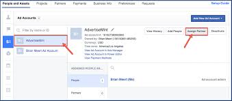 How To Assign A Partner To Your Facebook Business Manager Ad