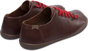 camper peu brown casual shoes women 20848 020