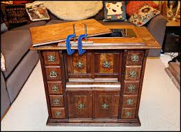 picture of singer drawing room cabinet
