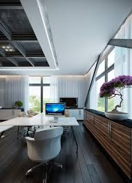 workspace decor ideas home comfortable home. incredible home workspaces furnished with futuristic furniture white office layout wonderful balck wooden floor workspace decor ideas comfortable x