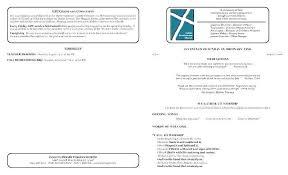 Church Program Templates Free Download Bulletin Template Ward Printable For Church Program Download