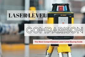 Laser Level Comparison Chart Best Laser Levels Comparison 2020 Complete List